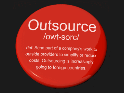 definition of outsource